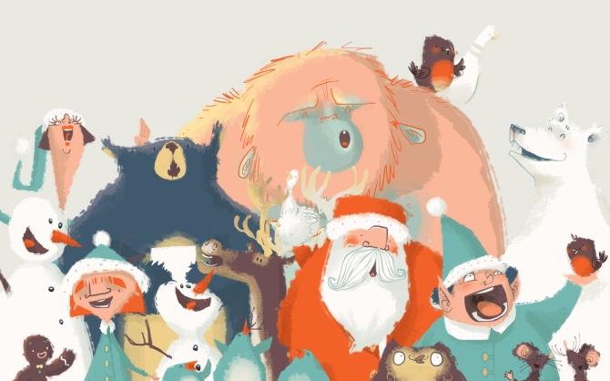 Christmas-characters