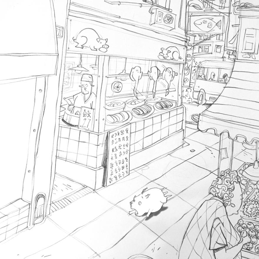 AlleyRun-sketch
